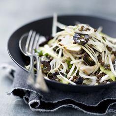 Salade marocaine aux aubergines  Warm or cold eggplant salad...use huile d'argan!!