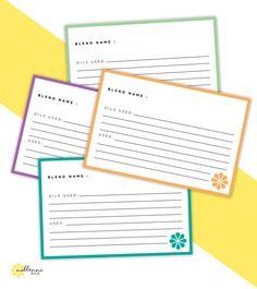 Black  White X Printable Recipe Card By Lauramaecreates On Etsy