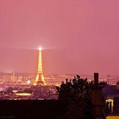 Pink Paris!