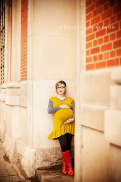Awesome maternity image by the awesome Rebecca Wersland.