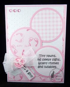 It's a Girl! by sasha728 - Cards and Paper Crafts at Splitcoaststampers