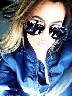 Khloe Kardashian In these cool aviators.