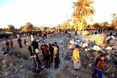 El bombardeo de la coalición internacional sobre Libia cobró la vida de al menos 40 personas. | Foto: Andes
