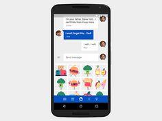 Messenger Stickers Update by Koa Metter for Google