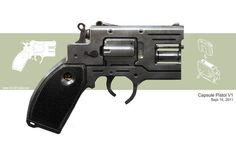 Dieselpunk pistol