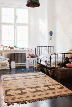 Such cute kids rooms!
