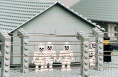 Zbigniew Libera's Lego Concentration Camp #lego #art
