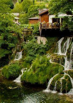 Rastoke, Korana river, Croatia
