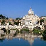 Landmarks - Tiber River Vatican City Rome Italy - iPad iPhone HD Wallpaper Free