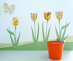 Tulpen en Vlinders