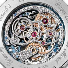 Grieb & Benzinger Blue Merit Customized A. Lange & Söhne Tourbillon Pour Le Merite Watch Watch Releases