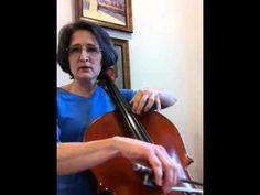 Cello E major scale 3rd Octave