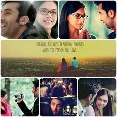 Luv them deepika &ranbir....yjhd Bollywood Quotes, Bollywood Couples, Bollywood Stars, Yjhd Quotes, You Drive Me Crazy, Dear Zindagi, Deepika Padukone Style, Best Funny Jokes, Movie Shots