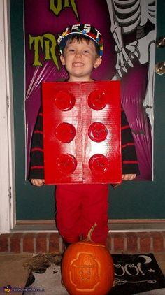 Lego Man - 2012 Halloween Costume Contest