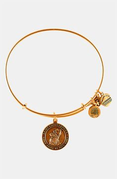 Alex and Ani 'St. Christopher' Wire Bangle available at #Nordstrom patron saint of athletes and travelers