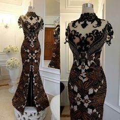 Batik Fashion, Ethnic Fashion, African Fashion, Women's Fashion, Batik Dress, Lace Dress, Dress Up, Great Gatsby Dresses, Lovely Dresses