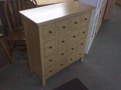 Apothecary Chest @ Woodcraft Furniture  www.woodcraftfurnitureonline.com