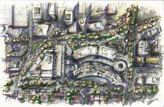 Sketch del master plan de Antara en el #ViernesDeRepost ❗️ Todos los viernes se repostean las mejores fotos de nuestras obras donde estemos etiquetados (ojo: no sólo mencionados) y se le dará crédito al autor! | #Community #Photography #Architecture #SocialMedia #SordoMadaleno #Repost @fiorenzano_con_z  ・・・  Acupuntura Urbana @sordo_madaleno #masterplan #sketch Antara, City Photo, Drawings, Eye, Friday, Urban, Drawing, Portrait, Illustrations
