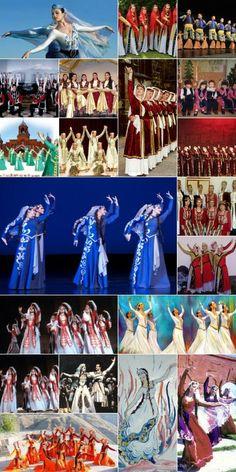 Armenian Dance Costumes