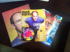 "The latest addition to our ""Caribou Covers Club"" comes from Germany! Way to go Musikexpress!"