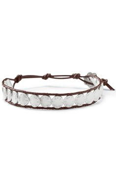 Silver & Leather Wrap Bracelet   Signature Scallop & Leather Bracelet   Stella & Dot