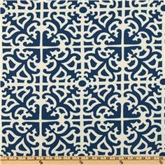 like this fabric - not too predictable nautical feel - this website has great selection & prices!
