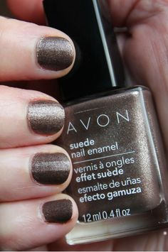 Beauty Reflections: Avon Suede Nail Enamels Will Make You Yearn For Fall
