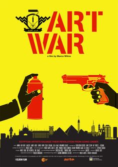 New ART WAR film poster designed by Ganzeer