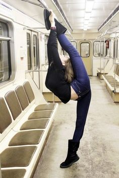 Oh my. This reminds me of my random flexibility. Hahaha