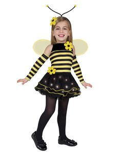 Light-Up Bumble Bee Girls Costume