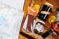 Nothing says Welcome like a #hamper of scrumptious Welsh produce #delicious