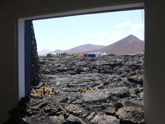 César Manrique's house (Lanzarote, Canary Islands, Spain): a room with a view.
