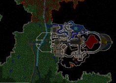 Epic dwarf fortress fort