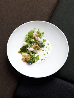 L'asperge et l'oeuf - Domaine des Etangs #gastronomie #france #oeuf #egg #asperge #asparagus