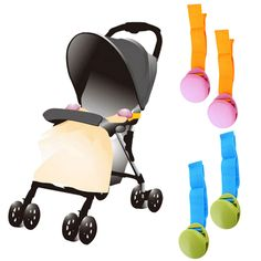 2pcs One Lot Glossy Multicolour Anti Tipi Clip Blanket Clip Delicate Baby Stroller Accessory Baby Blanket Clip 2017 Hot Selling