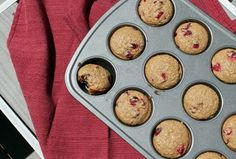 Cranberry Orange Muffins for #BrunchWeek, with @nielsenmassey orange extract and @dixiecrystals sugar