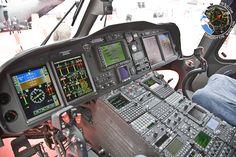 AW-139 Glass Cockpit. One day... Westland Helicopters, Augusta Westland, Helicopter Cockpit, Glass Cockpit, Military Guns, Big Bird, Transportation, Aviation, Aircraft