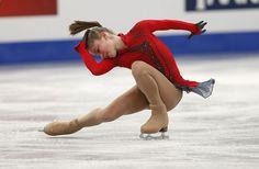 Buz Pateni Pistinde Kızlar Arası Rekabet