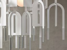 Waterfall Shape Pendant Lamp BY VANIA ON	MARCH 31, 2011