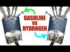 Hydrogen Engine, Hydrogen Fuel, Hydrogen Generator, Alternative Fuel, Power Motors, Combustion Engine, Gasoline Engine, Nikola Tesla, Small Engine