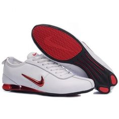 Shox Nike Shox White Metallic Red [Nike Shox - Nike Shox with the fashion  style and also make men and women experience amazing. This classic Nike  Shox White ...