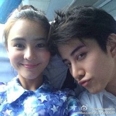 AoMike - these two have incredible chemistry in the Thai dramas, Full House and Kiss Me