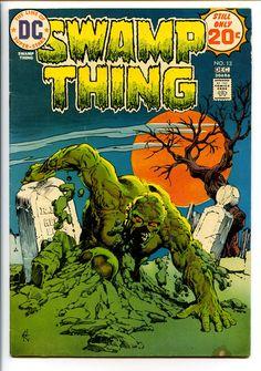 Swamp Thing (1st series) 13 (VG/FN 5.0)