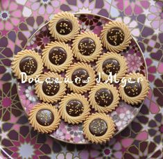 sablés ganache au chocolat Beignets, Mini Cupcakes, Biscotti, Chocolate Chip Cookies, Sweet Recipes, Muffins, Food And Drink, My Favorite Things, Cooking