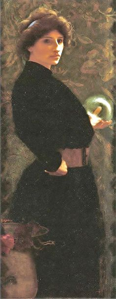 Alfred Agache - The Fortune Teller