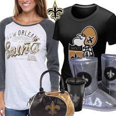 Sexy new orleans saints gear