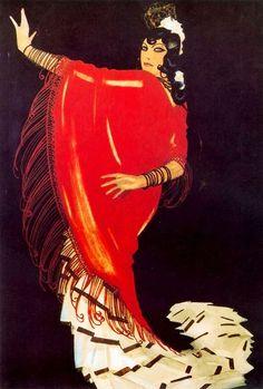 Rafael de Penagos (1889-1953) Испания