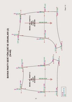 Unterwäsche kopiert Buch – Modellistbücher – Yun Mi Shim – Join in the world of pin Bralette Pattern, Bra Pattern, Pants Pattern, Pattern Books, Pattern Cutting, Pattern Making, Sewing Basics, Sewing Hacks, Underwear Pattern