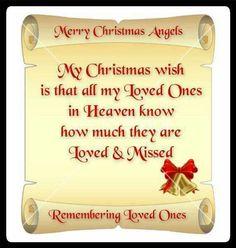 Christmas in Heaven. Merry Christmas In Heaven, Christmas Mom, Christmas Wishes, Christmas Angels, Christmas Greetings, Christmas Blessings, Christmas Items, Daddy In Heaven, Loved One In Heaven