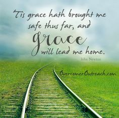 """For from his fullness we have all received, grace upon grace."" ~John 1:16 #amazinggrace #overcomeroutreach"